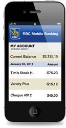 RBC iPhone