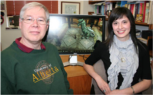 Duane Szafron and Maria Cutumisu Photo: U of Alberta