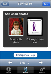 Child Alert Add Photos