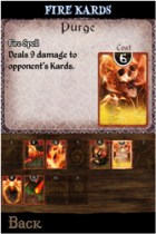 Kard Kombat Fire Cards