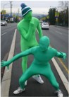 the green men