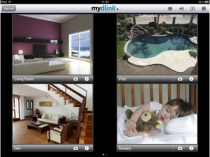 Mydlink 4 camera view