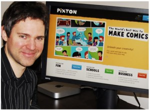 Pixton Best Ed-Tech Products of 2012