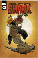 Shank Comic Cover