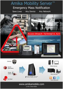 Amika Mobile specializes in Critical and Emergency Mass Notification Solutions.