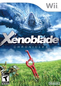 Xenoblade Chonicles Box Art