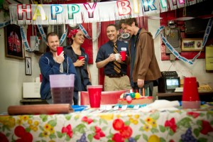 Birthday On The Set - Bill And Sons Towing