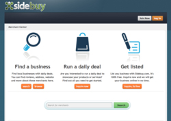 sidebuy merchant view