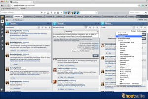 Hootsuite with Yammer