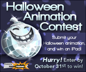 Toon Boom Halloween Animation Contest 2012