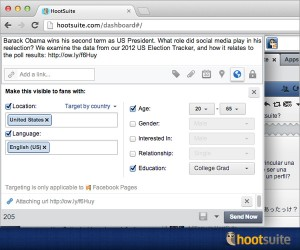 Hootsuite's Enhanced Demographic Feature For Facebook