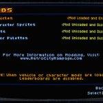 Retro City Rampage Mod Screen