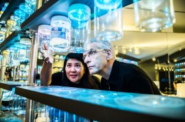 Ana Serrano & David Cronenberg Inspect Creations