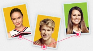 Glee digital cards