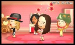 3DS TomodachiLife Miis Dancing