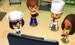 3DS TomodachiLife Miis Playing Wii U