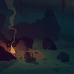 The Long Dark empty campfire