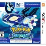 Pokemon Alpha Sapphire Packshot