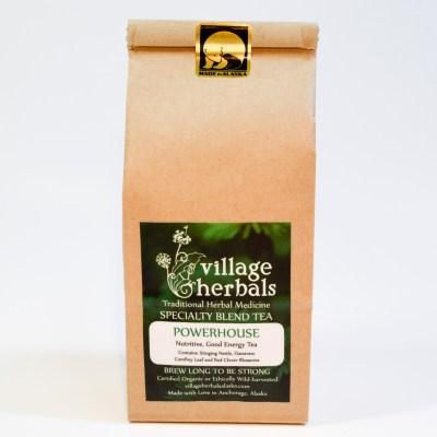 village herbals loose leaf tea powerhouse tea