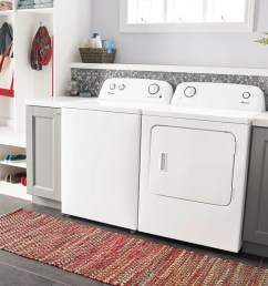 amana 6 5 cu ft white front load electric dryer ned4655ew [ 1280 x 961 Pixel ]
