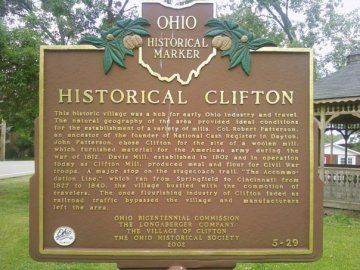 Clifton Historical Marker