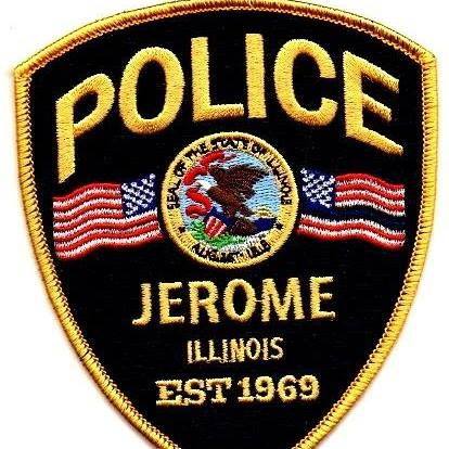 Image of the Jerome PD badge.