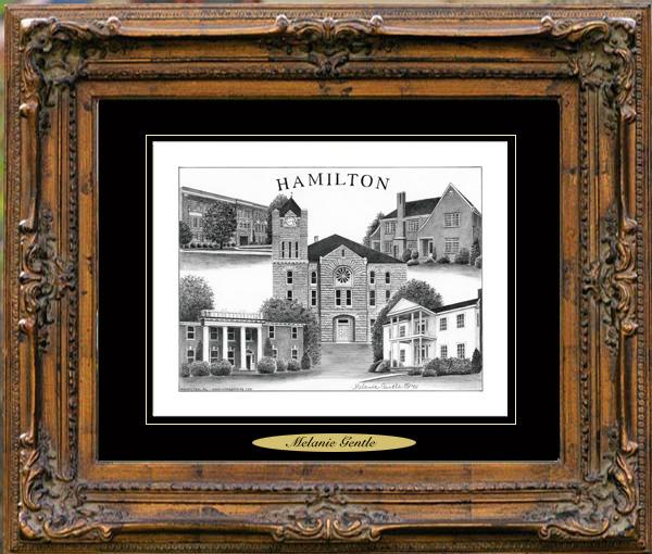 Pencil Drawing of Hamilton, AL