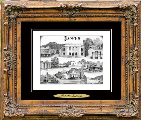 Pencil Drawing of Jasper, TN