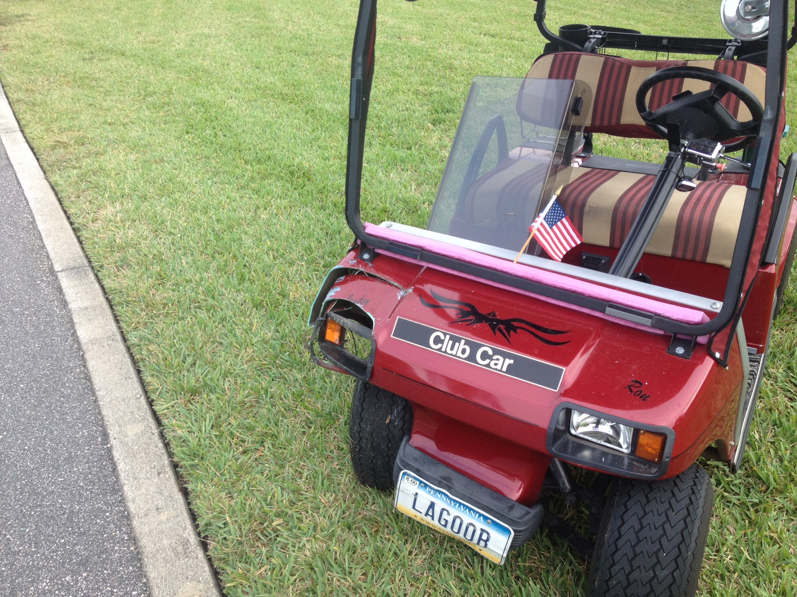 golf cart accidents isolation transformer wiring diagram involved in accident abandoned near savannah