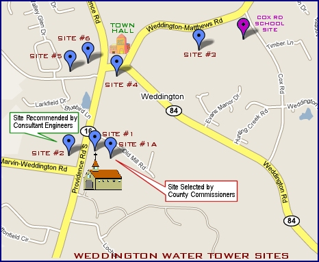 Water Tower Sites