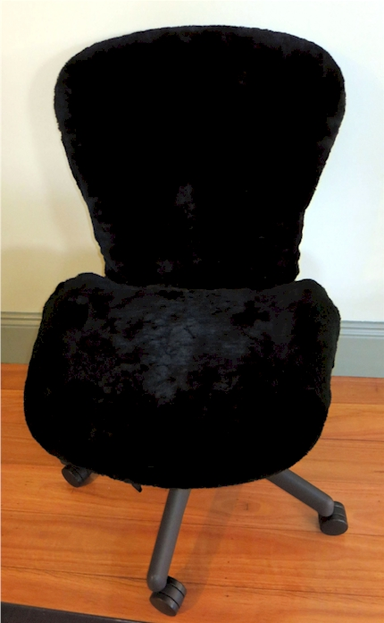 Aeron Chair Sheepskin Seat Cover