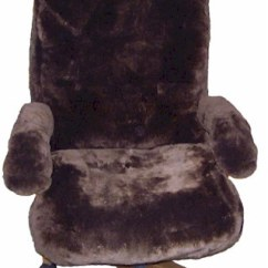 Chair Covers Office Seats Correct Posture Tailor Made Sheepskin Other Available Seat