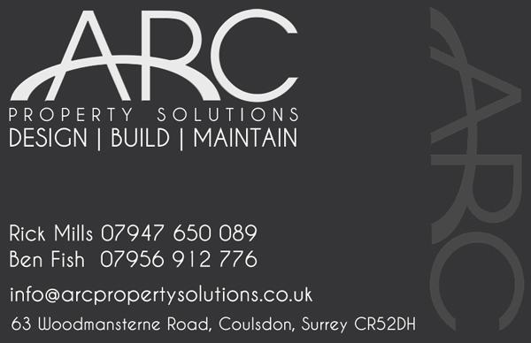 Arc Business Card Design