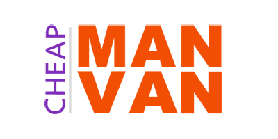 Cheap Man and Van Logo Design