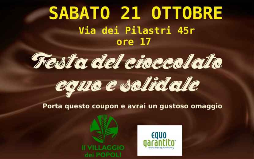 coupon cioccolato