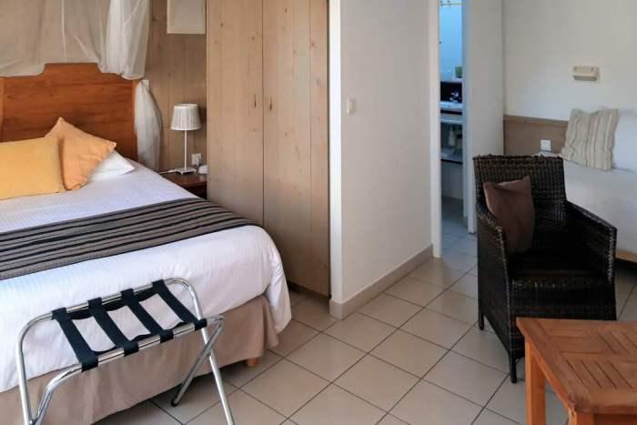 Chambre familliale hotel iLe de Ré