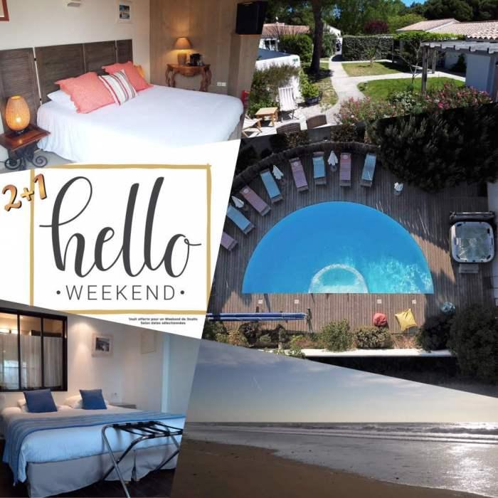 Offres promo Hotel Ile de Ré Hello Week End