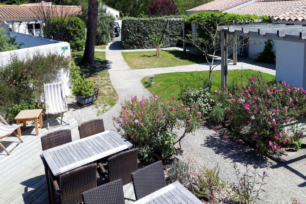 Jardin dans hôtel Ile de Ré