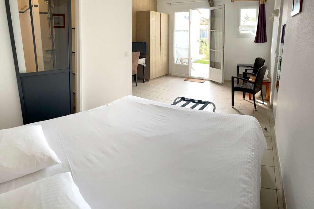 Chambre Standard hotel Ile de Ré Charente Maritime