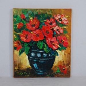 red-flowers-in-black-vase-oil