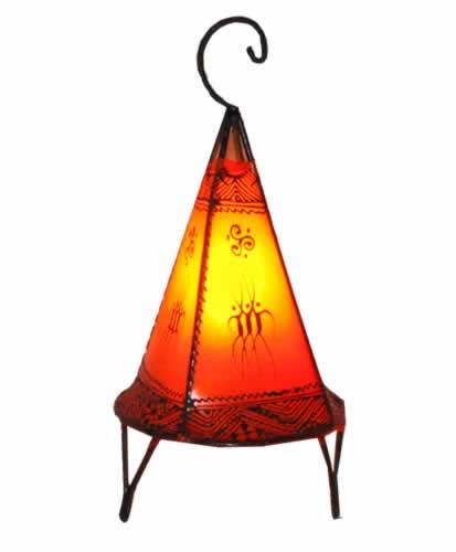 Moroccan Henna Lamp - 38cm - Natural - Villa and Hut