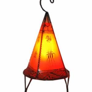 orange henna lamp