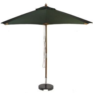 sturdi-plus-fsc-wood-3m-round-parasol-green