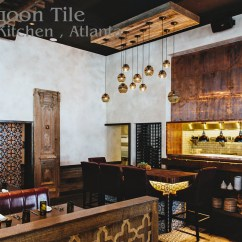 Tile Floors In Kitchen Patterns Colors Dance At Gypsy - Atlanta Buckhead Cement ...