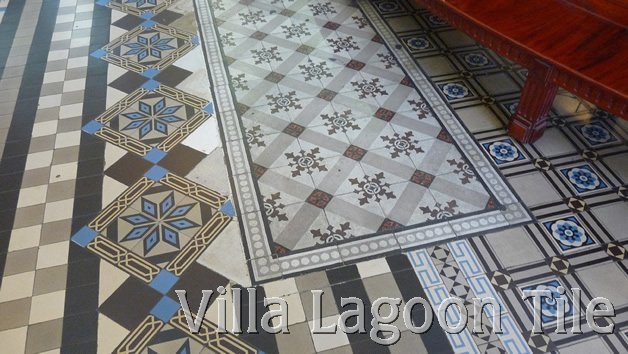Antique French Cement Tile Floors  Villa Lagoon Tile
