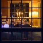 Villa Mustikka. Ruokailutila. Dining room.