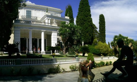 Sights of Corfu - Achillion Palace
