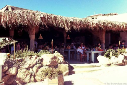 Have a coffee or lunch at this nice cafe in Kalo Livadi