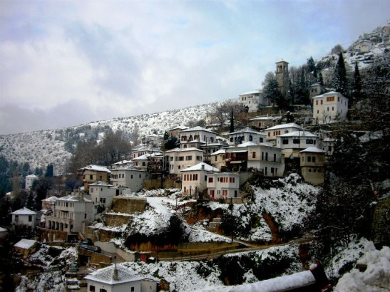 Pelio is one of the most popular destinations for winter holidays in Greece