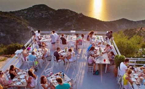 Tavern in Lefkada